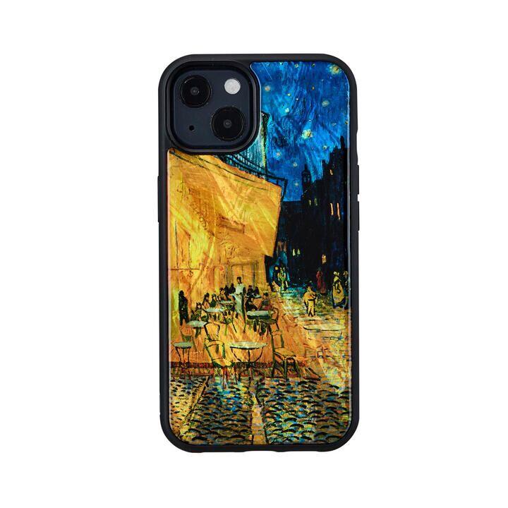 天然貝ケース 夜のカフェテラス iPhone 13【10月上旬】_0