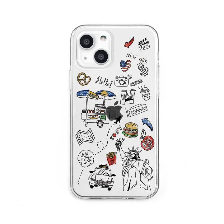 ソフトクリアケース I LOVE NEWYORK iPhone 13【10月下旬】_0
