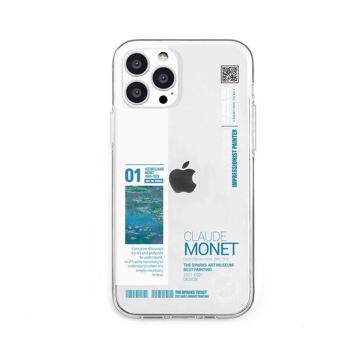 ソフトクリアケース モネ iPhone 13 Pro【10月上旬】_0