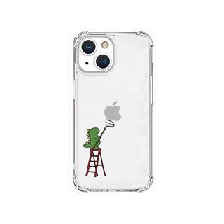 iPhone 13 mini (5.4インチ) ケース ソフトタフケース ペインティング グリーン iPhone 13 mini【10月下旬】