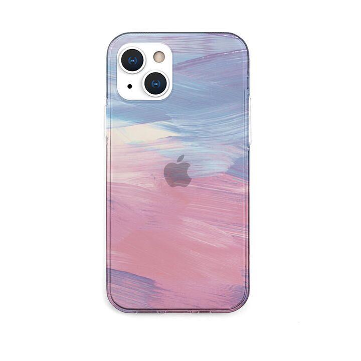 ソフトクリアケース PINK pastel iPhone 13【10月下旬】_0