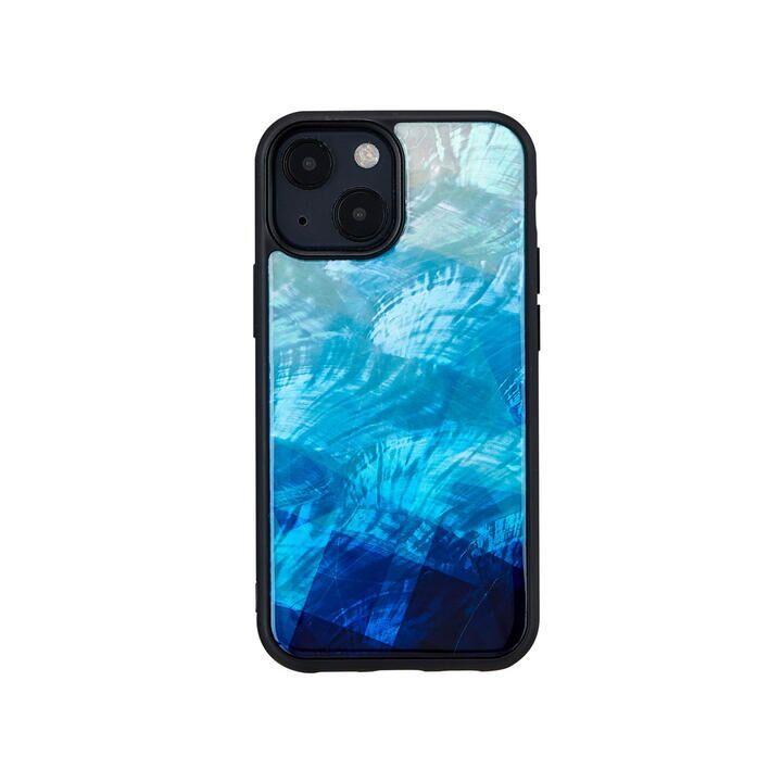 天然貝ケース Blue Lake iPhone 13 mini【10月上旬】_0