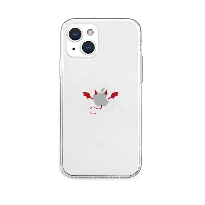 ソフトクリアケース 悪魔 iPhone 13【10月下旬】_0