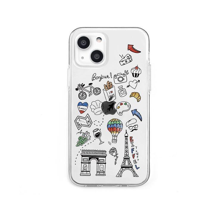 ソフトクリアケース I LOVE PARIS iPhone 13 mini【10月下旬】_0