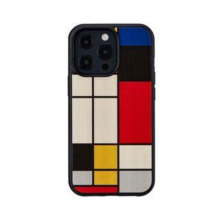 iPhone 13 Pro ケース 天然木ケース Mondrian Wood iPhone 13 Pro【10月下旬】