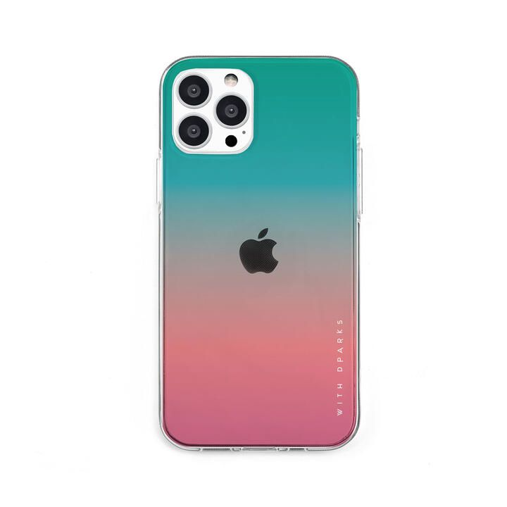 ソフトクリアケース グラデーション アップルミント iPhone 13 Pro【10月上旬】_0