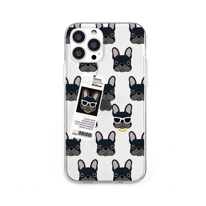 ソフトクリアケース bulldog iPhone 13 Pro【10月上旬】_0