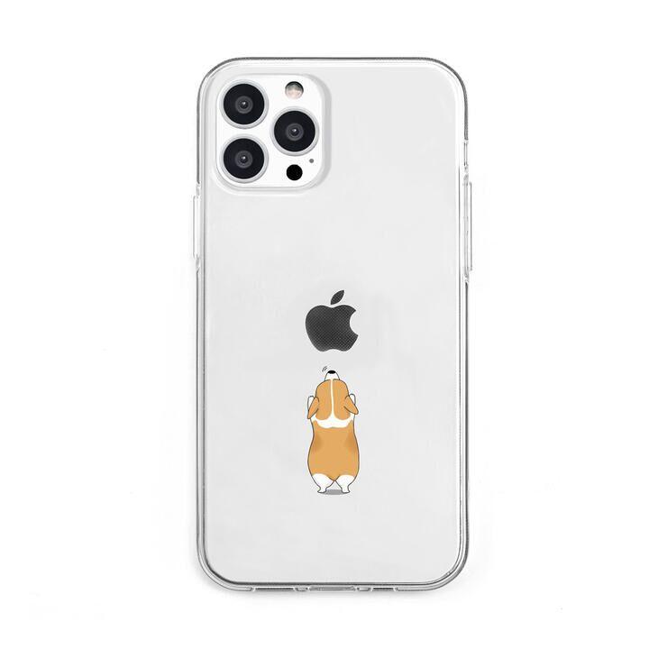 ソフトクリアケース イヌ iPhone 13 Pro Max【10月上旬】_0