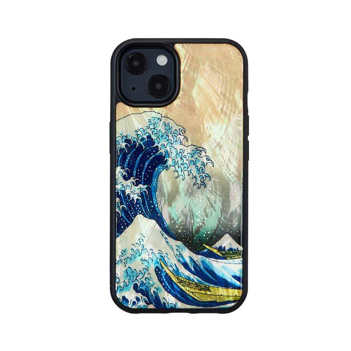 天然貝ケース 神奈川沖浪裏 iPhone 13【10月上旬】_0