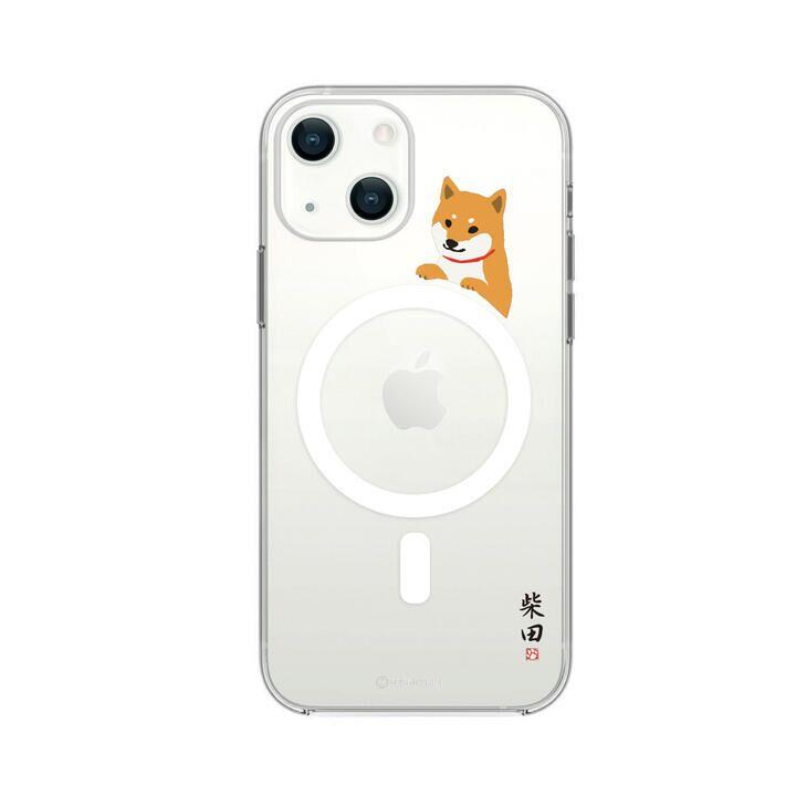 Magsafe対応ケース しばたさん 柵の向こう iPhone 13【10月上旬】_0