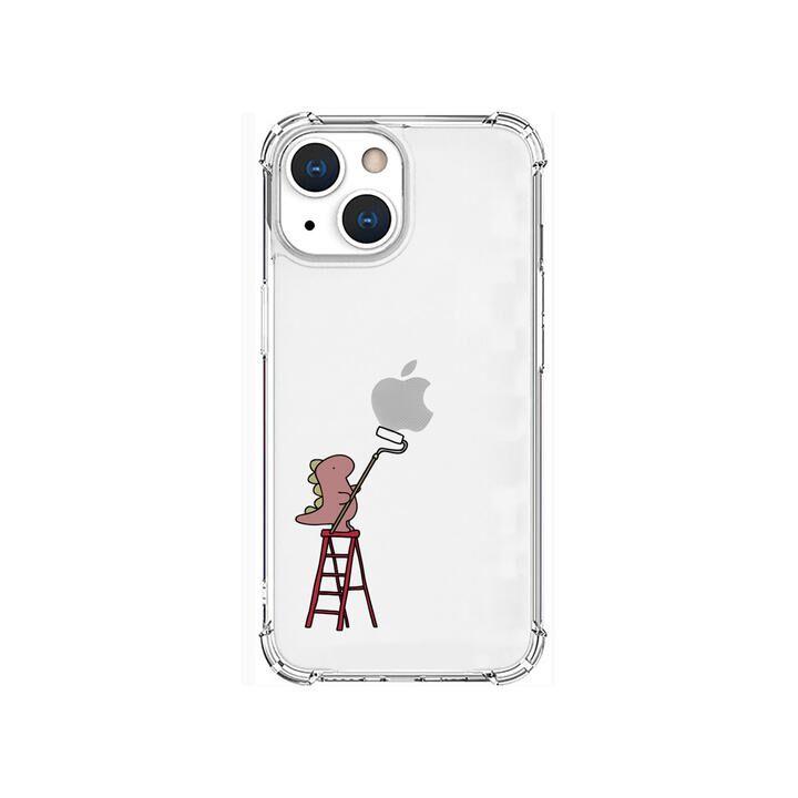 ソフトタフケース ペインティング ピンク iPhone 13 mini【10月上旬】_0
