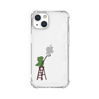 iPhone 13 ケース ソフトタフケース ペインティング グリーン iPhone 13【10月下旬】
