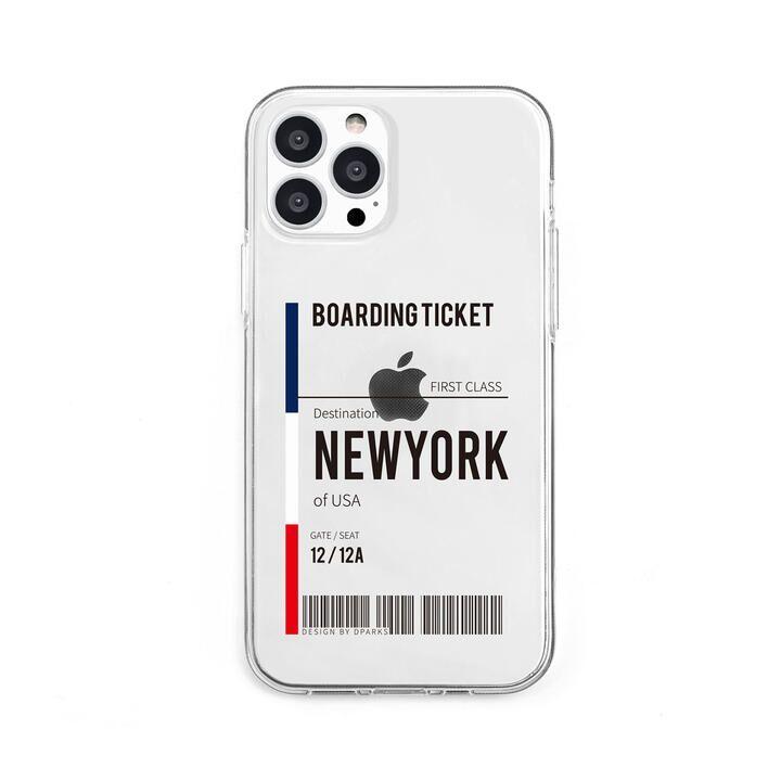 ソフトクリアケース NEWYORK iPhone 13 Pro【10月上旬】_0