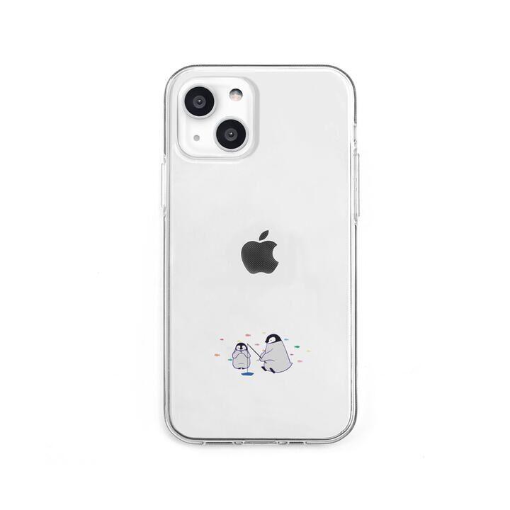 ソフトクリアケース ミニ動物 ペンギン iPhone 13 mini【10月下旬】_0