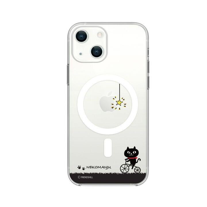 Magsafe対応ケース ネコマンジュウ サイクリング iPhone 13【10月上旬】_0