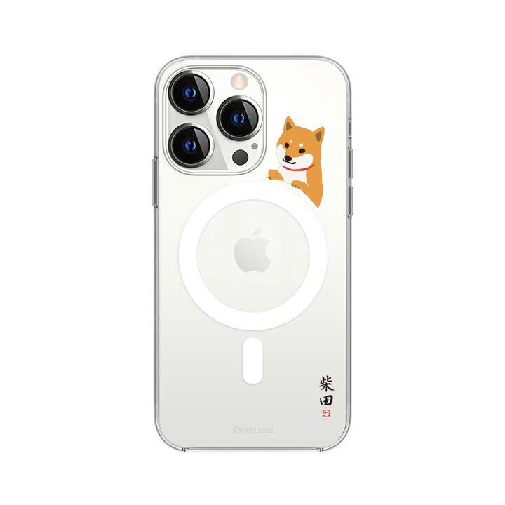 Magsafe対応ケース しばたさん 柵の向こう iPhone 13 Pro【10月上旬】_0