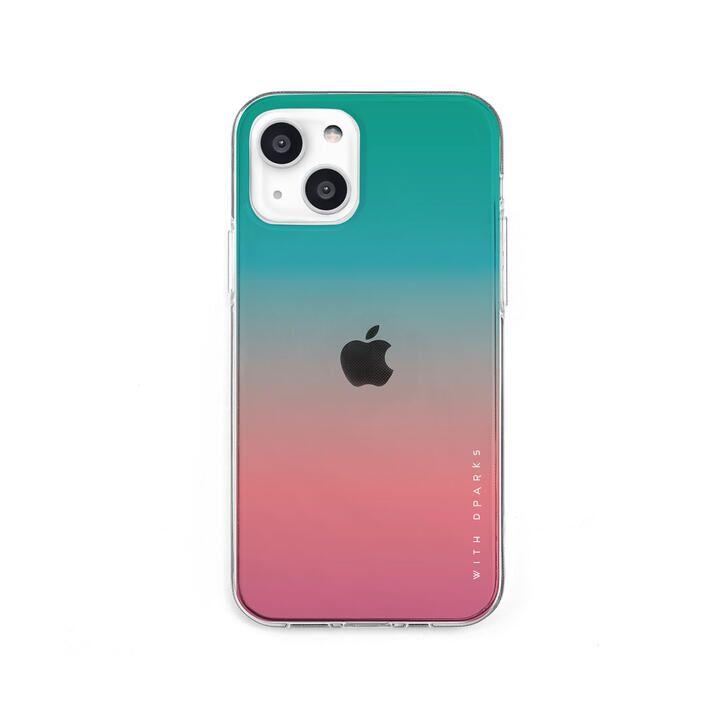 ソフトクリアケース グラデーション アップルミント iPhone 13 mini【10月上旬】_0