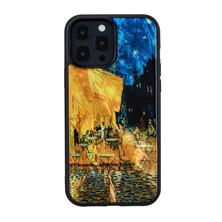 天然貝ケース 夜のカフェテラス iPhone 13 Pro Max【10月上旬】_0