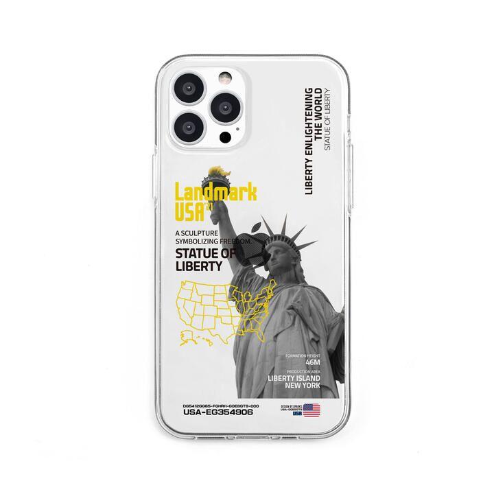 ソフトクリアケース LANDMARK-USA iPhone 13 Pro【10月上旬】_0