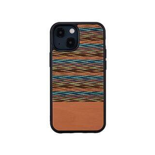 iPhone 13 mini (5.4インチ) ケース 天然木ケース Browny Check iPhone 13 mini【10月下旬】