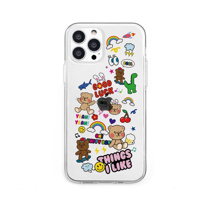 ソフトクリアケース THINGS I LIKE iPhone 13 Pro【10月上旬】_0