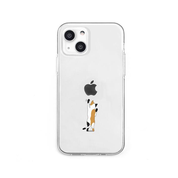 ソフトクリアケース ネコ iPhone 13 mini【10月下旬】_0