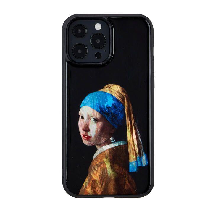 天然貝ケース 真珠の耳飾りの少女 iPhone 13 Pro Max【10月上旬】_0