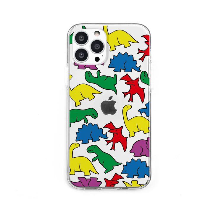 ソフトクリアケース カラフルザウルス iPhone 13 Pro【10月上旬】_0