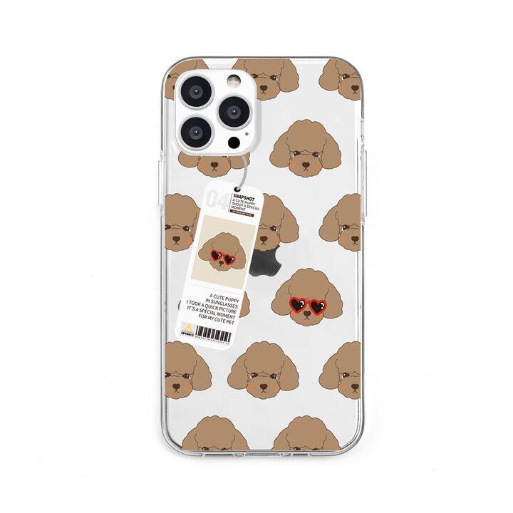 ソフトクリアケース poodle iPhone 13 Pro【10月上旬】_0