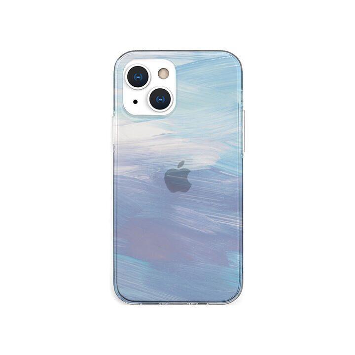 ソフトクリアケース Blue pastel iPhone 13 mini_0