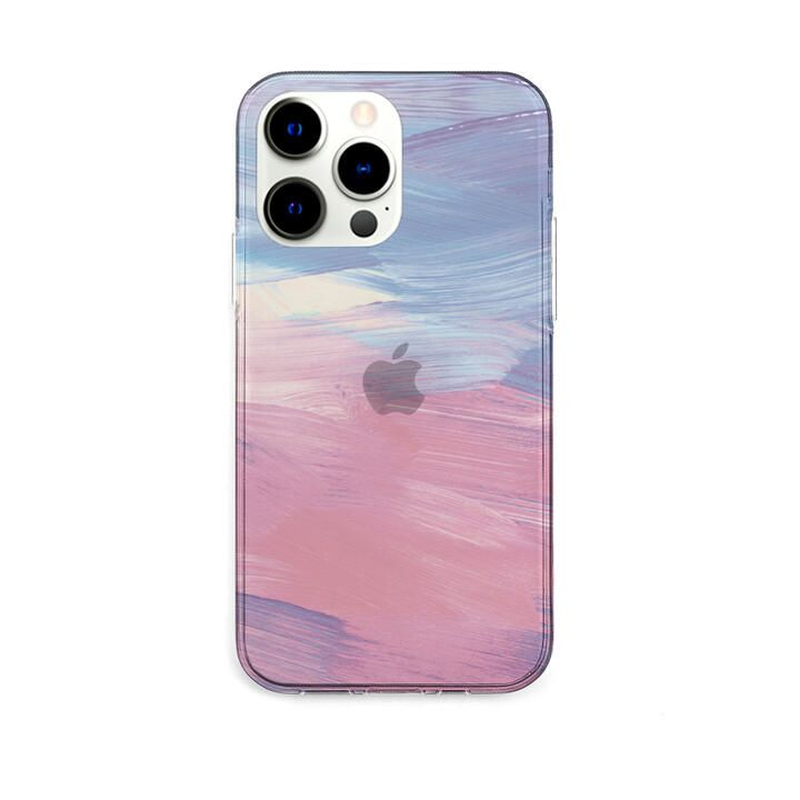 ソフトクリアケース PINK pastel iPhone 13 Pro【10月下旬】_0