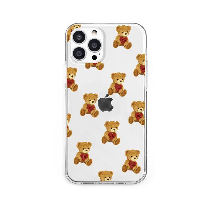 ソフトクリアケース ハートテディ iPhone 13 Pro【10月上旬】_0