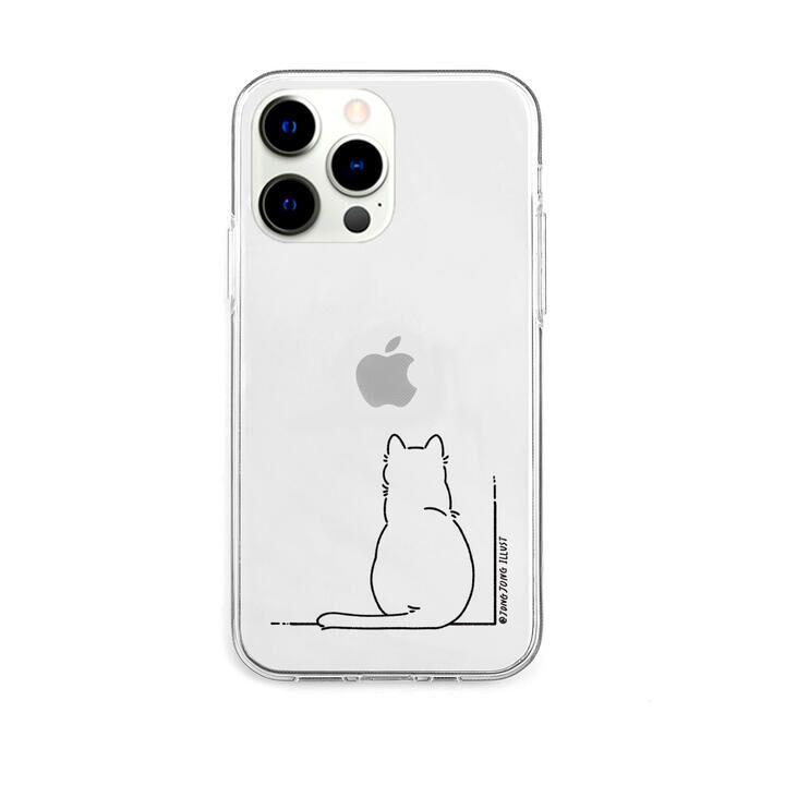 ソフトクリアケース SIRONEKO iPhone 13 Pro【10月下旬】_0