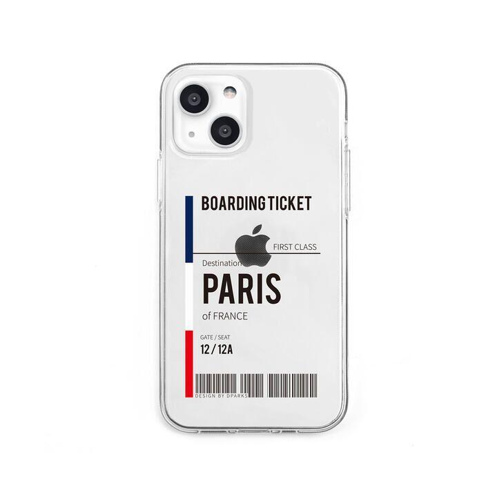 ソフトクリアケース Paris iPhone 13 mini【10月下旬】_0