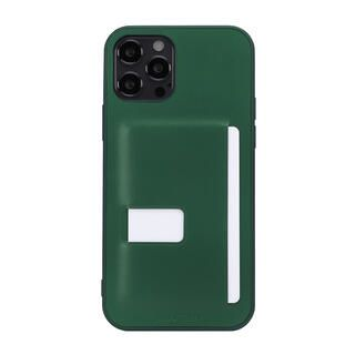 iPhone 13 Pro Max (6.7インチ) ケース LEATHER BACK COVER CASE ディープグリーン iPhone 13 Pro Max【10月下旬】