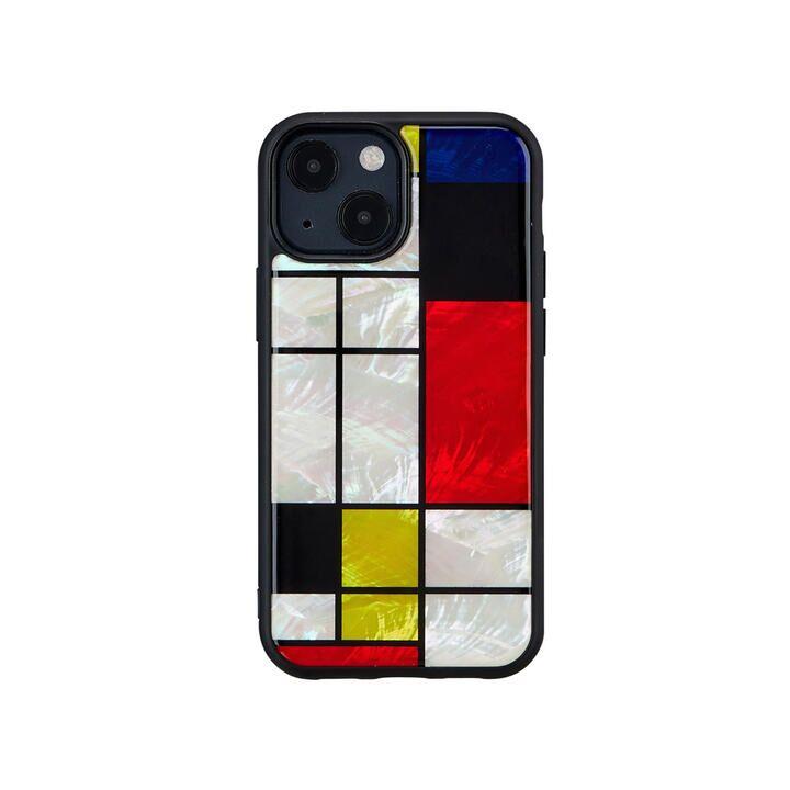 天然貝ケース Mondrian iPhone 13 mini【10月上旬】_0
