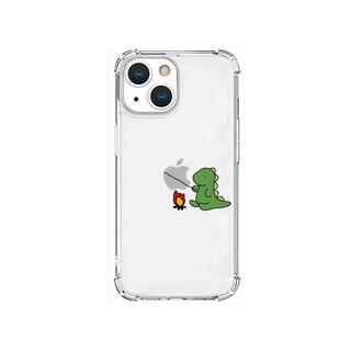 iPhone 13 mini (5.4インチ) ケース ソフトタフケース たき火 グリーン iPhone 13 mini【10月下旬】