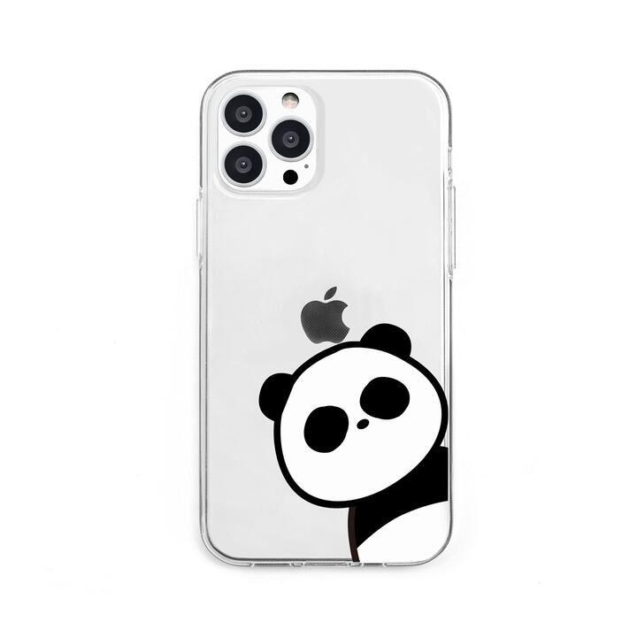 ソフトクリアケース パンダ iPhone 13 Pro【10月上旬】_0