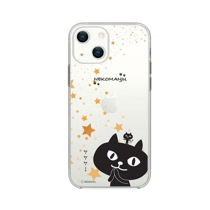 ネコマンジュウクリアケース 星に願いを iPhone 13【10月上旬】_0