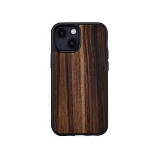 iPhone 13 mini (5.4インチ) ケース 天然木ケース Ebony iPhone 13 mini【10月下旬】