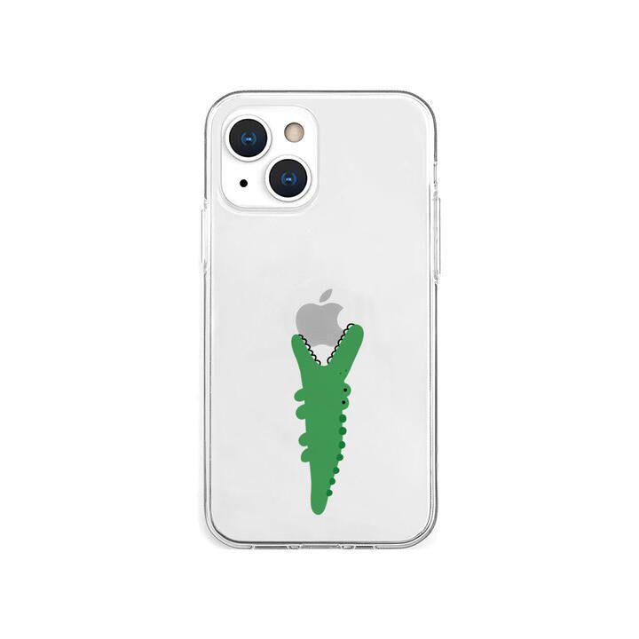 ソフトクリアケース ワニ iPhone 13 mini【10月下旬】_0