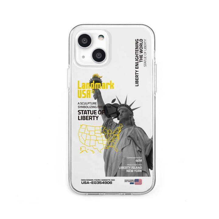 ソフトクリアケース LANDMARK-USA iPhone 13【10月下旬】_0