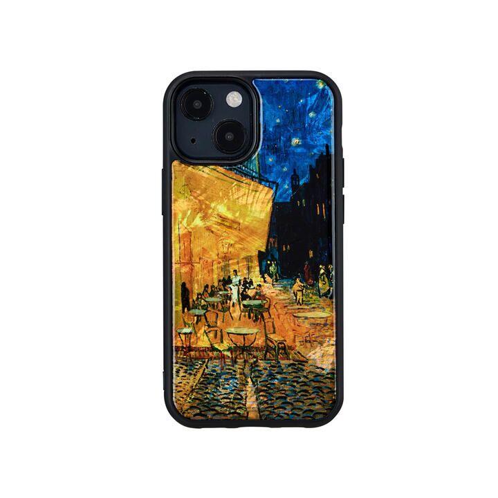 天然貝ケース 夜のカフェテラス iPhone 13 mini【10月上旬】_0