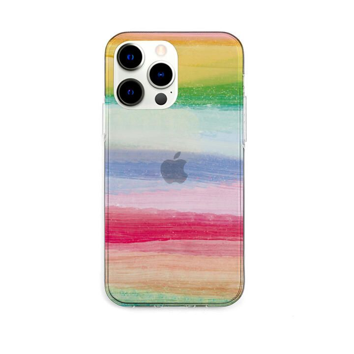 ソフトクリアケース 海の波 トロピカル iPhone 13 Pro【10月下旬】_0