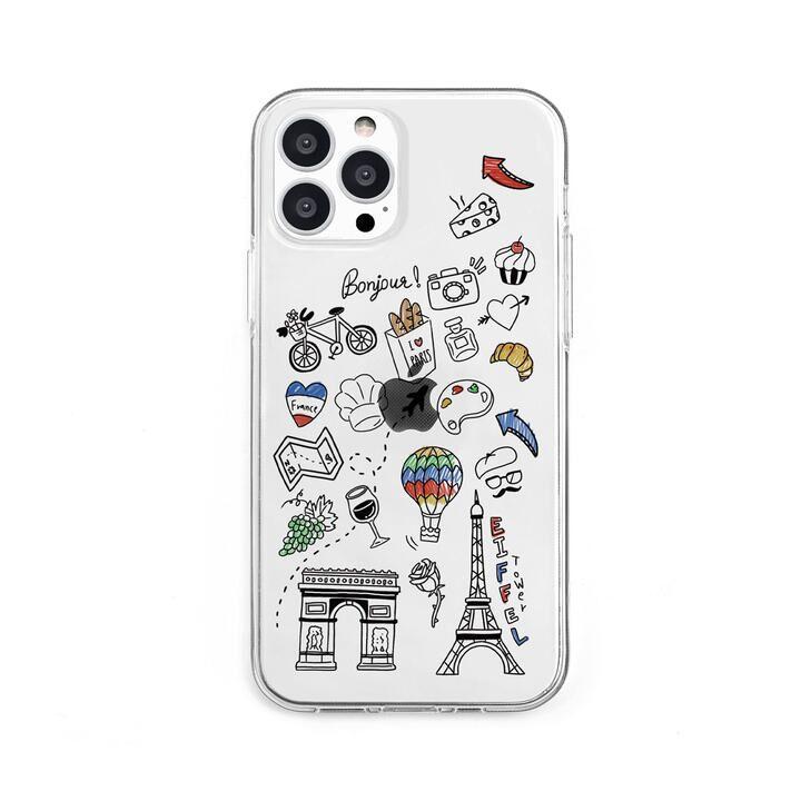 ソフトクリアケース I LOVE PARIS iPhone 13 Pro【10月上旬】_0