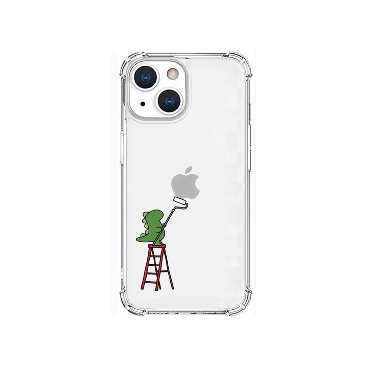 ソフトタフケース ペインティング グリーン iPhone 13 mini【10月上旬】_0