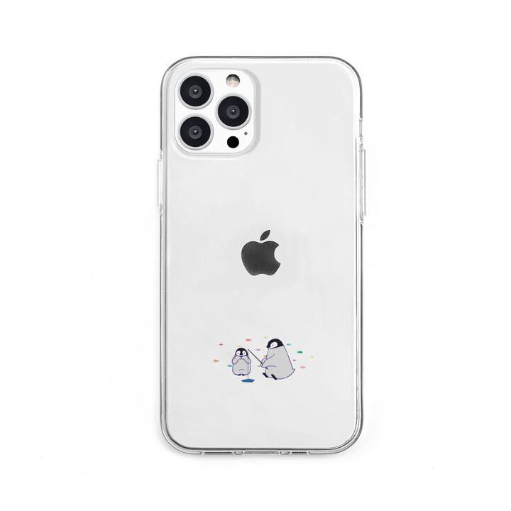 ソフトクリアケース ミニ動物 ペンギン iPhone 13 Pro【10月上旬】_0
