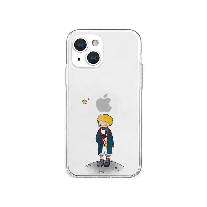 ソフトクリアケース リトルプリンスとバラ iPhone 13 mini【10月下旬】_0