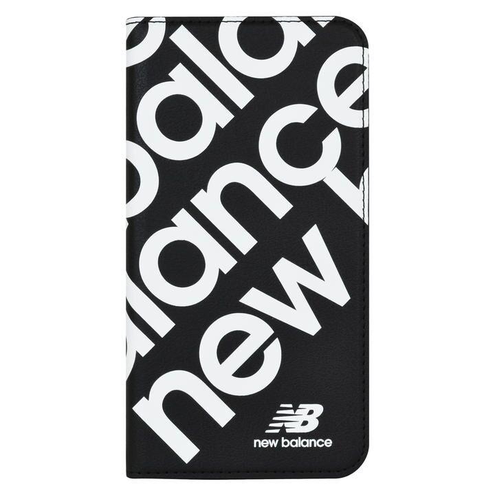 iPhone 11 ケース New Balance スリム手帳ケース スタンプロゴ スタンプロゴ/ブラック iPhone 11_0