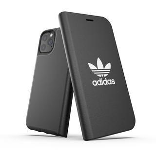 iPhone 11 Pro ケース adidas Originals Booklet Case BASIC FW19 iPhone 11 Pro Black/White【9月下旬】